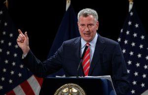 oil companies death knell bill de blasio