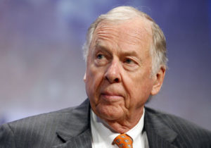 T. Boone Pickens set to retire